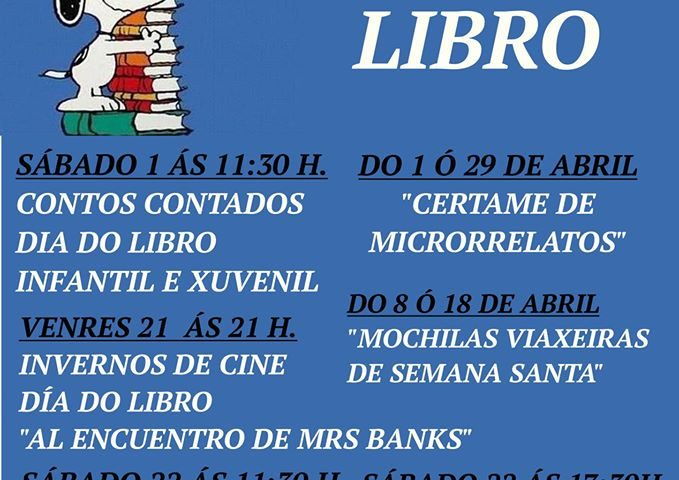 Cartel MEs do Libro